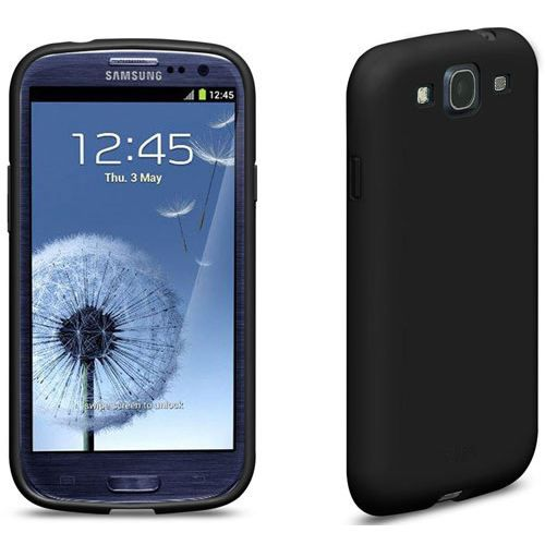 coque galaxy s3 i9300 iplate glossy noir samsung achat. Black Bedroom Furniture Sets. Home Design Ideas