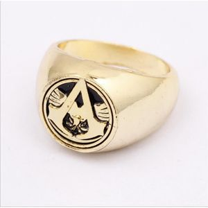 CHEVALIERE Drapeau Creed Ezio anneau de la chaîne Logo Anneau