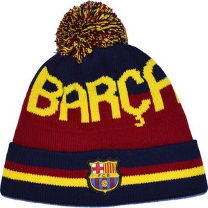 BONNET - CAGOULE Bonnet Pompon Barça - Collection officielle FC BAR