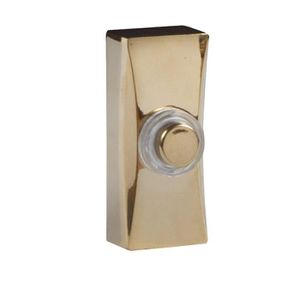 Byron 7960B 7960B filaire sonnette supplémentaire Carillon Sonnette laiton