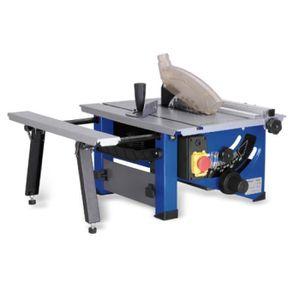 SCIE ÉLECTRIQUE Scie Electrique - Table coulissante en bois de mén