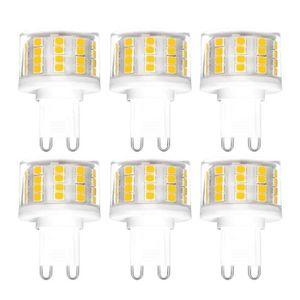 AMPOULE - LED YWX Ampoule LED G9,Dimmable Blanc Chaud 3000K G9 5