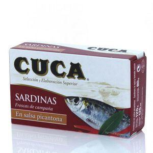 PRODUIT DE SARDINE Sardines en sauce picante Cuca