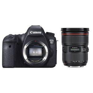 APPAREIL PHOTO RÉFLEX CANON EOS 6D + Objectif EF 24-70mm f/2.8L II USM