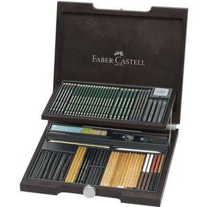 CRAYON DE COULEUR FABER-CASTELL Coffret Crayon Pitt Monochrome assor