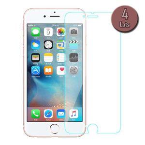 FILM PROTECT. TÉLÉPHONE Lot de 4 films de protection pour iPhone 7 (4,7