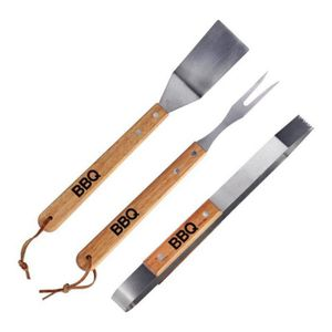 USTENSILE Kit complet barbecue plancha pince fourchette spat