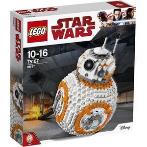 ASSEMBLAGE CONSTRUCTION LEGO Star Wars - BB-8 - 75187 - Jeu de Constructio