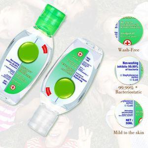 DISTRIBUTEUR DE SAVON 10pcs portable 50ML gel jetable désinfectant pour