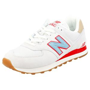 BASKET New Balance Ml574 Classic Homme Baskets Blanc