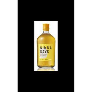 WHISKY BOURBON SCOTCH Nikka Days blend 40%