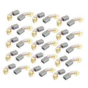 sourcingmap 30pcs balai moteur /élec carbone 16mmx11mmx7mm Perceuse Bosch tournevis