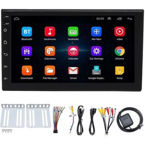 AUTORADIO TEMPSA 7 Pouces 2DIN Autoradio Bluetooth WiFi GPS