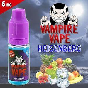 LIQUIDE Pack 10 E-Liquide Heisenberg 6mg en 10ml par Vampi