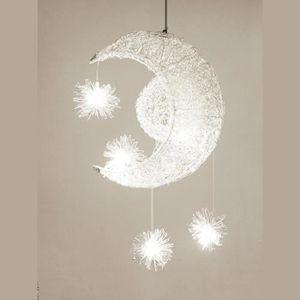 LUSTRE ET SUSPENSION Lampe Suspendue Luminaire Salon Simple Chandelier