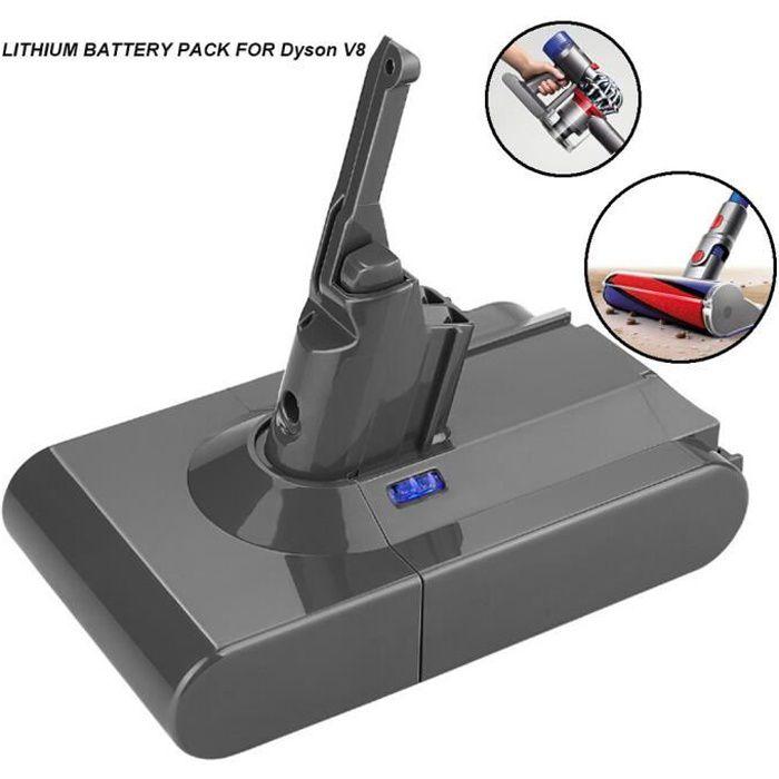 Batterie 4000mAh 21.6V pour l'aspirateur animal Absolute V8 de la batterie Dyson V8