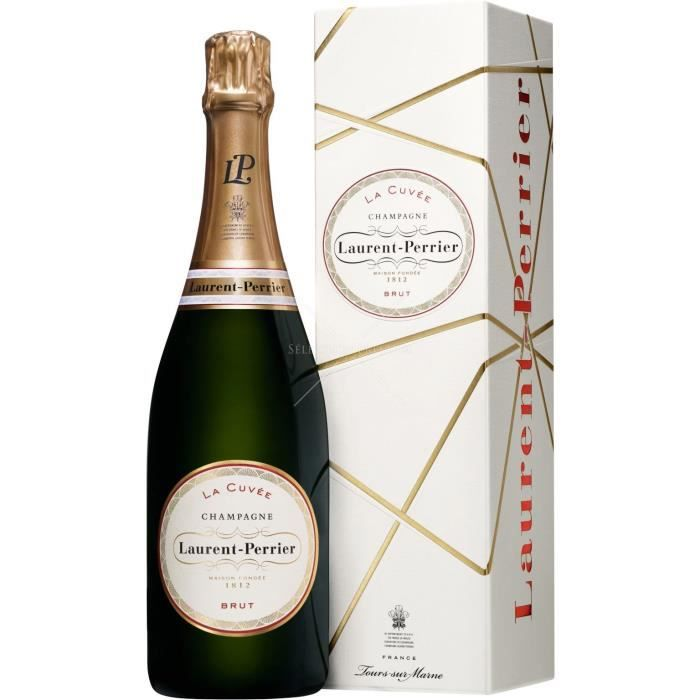 6X Laurent-Perrier Brut 75cl - Etui - Champagne