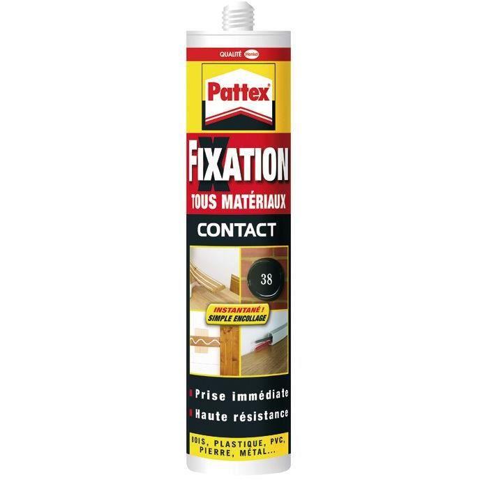 Pattex colle fixation tous matériaux 345g 944862/1851479