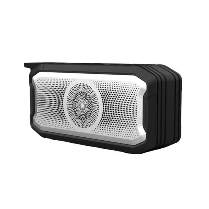 1 Pc haut-parleur sans fil étanche TWS portable Subwoofer pour l'extérieur CD PLAYER - RADIO - BOOMBOX