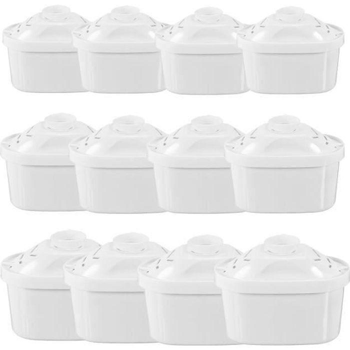 Pack de 12 Cartouches Filtres pour Brita Maxtra Carafe Filtrante Bouilloire Pièce de Rechange a256