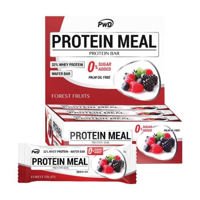 Pwd+Barre de repas protéinée 1 barre de 35g (Fruits des bois)