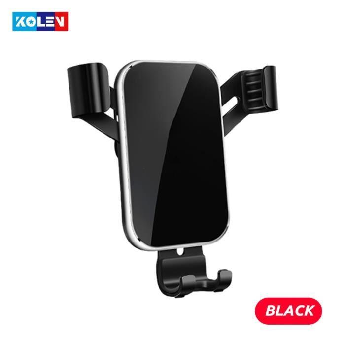 Supports voiture,Pour Audi A1 2011 2019 Support de téléphone portable pour voiture Support de charge automatique - Type Black