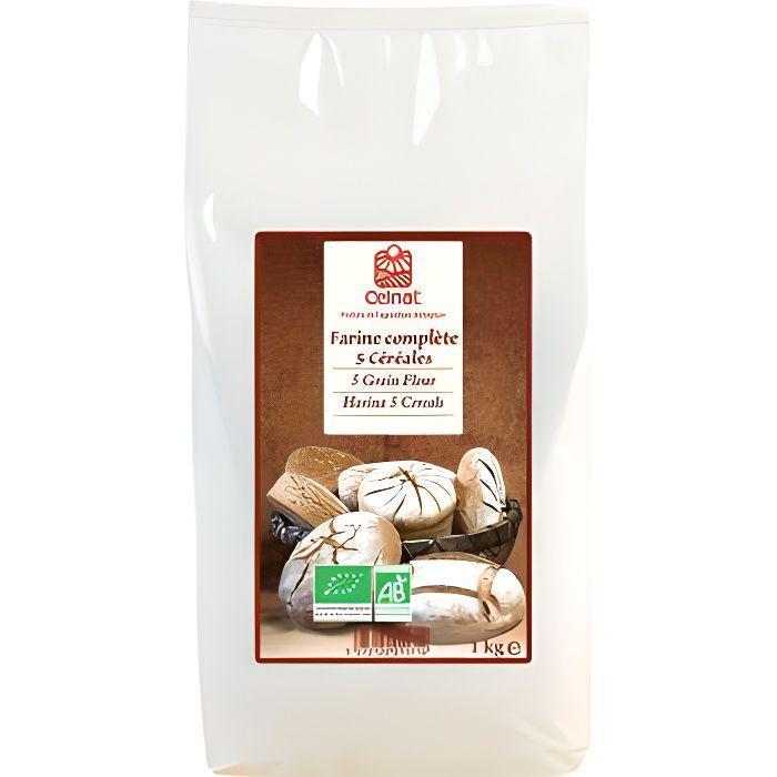 Celnat Farine complete 5 Cereales 1kg