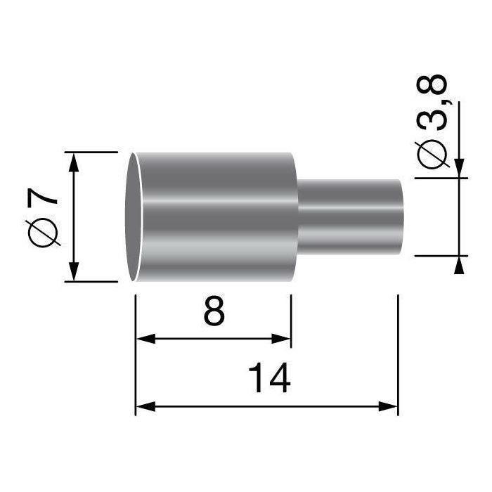 Butée de gaine, pour gaine de Ø: 6,0mm