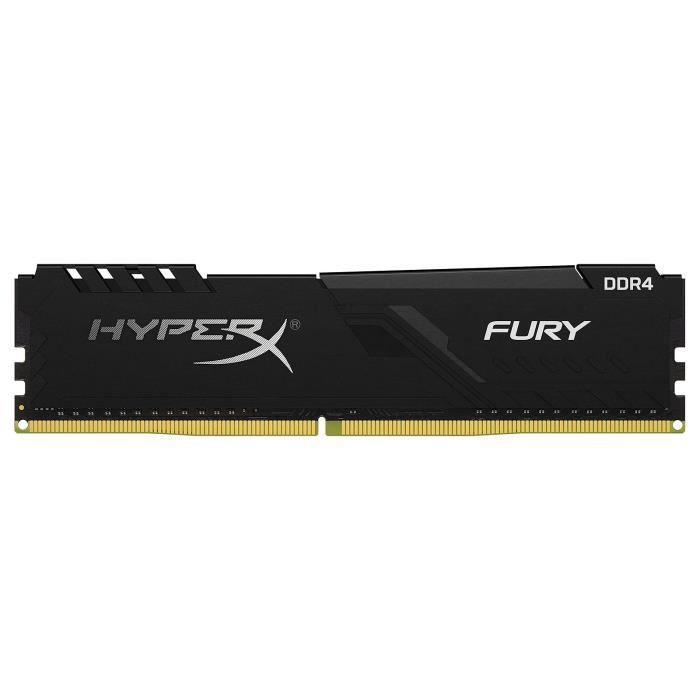HyperX Fury 32 Go DDR4 3000 MHz CL16 - RAM DDR4 PC4-24000 -...