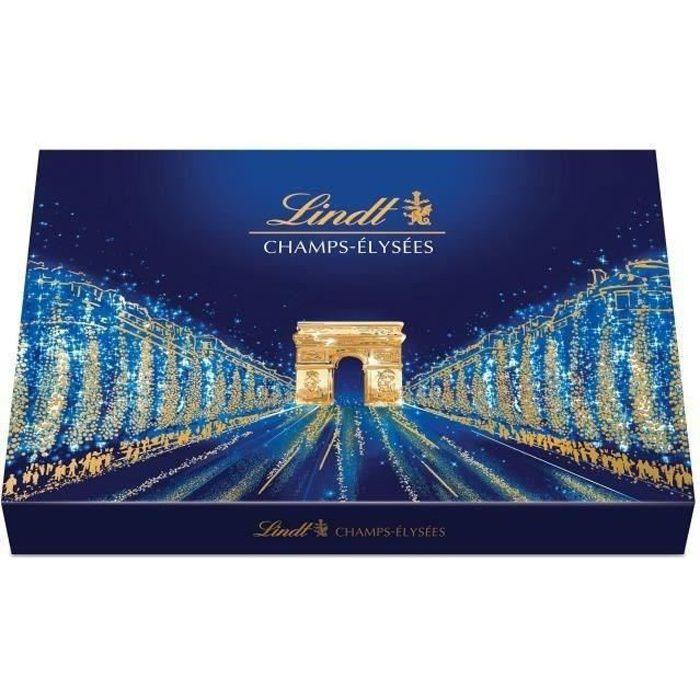 LINDT Boîte de chocolat Assorti Champs-Elysées - 469 g
