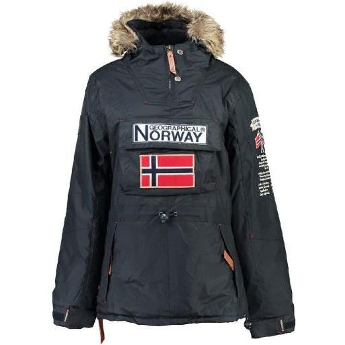 Parka passe-t�te Femme Geographical Norway Boomera Marine