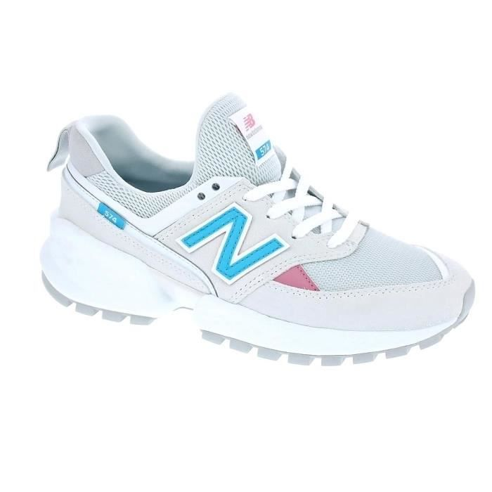 Baskets basses - New Balance 574 Femme Gris
