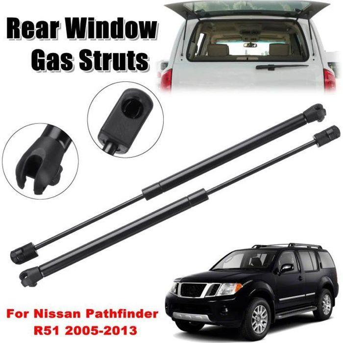 NEUFU 2x Ressort de Support Vérin à Gaz Pare-brise Arrière Pour Nissan Pathfinder R51 2005-2013