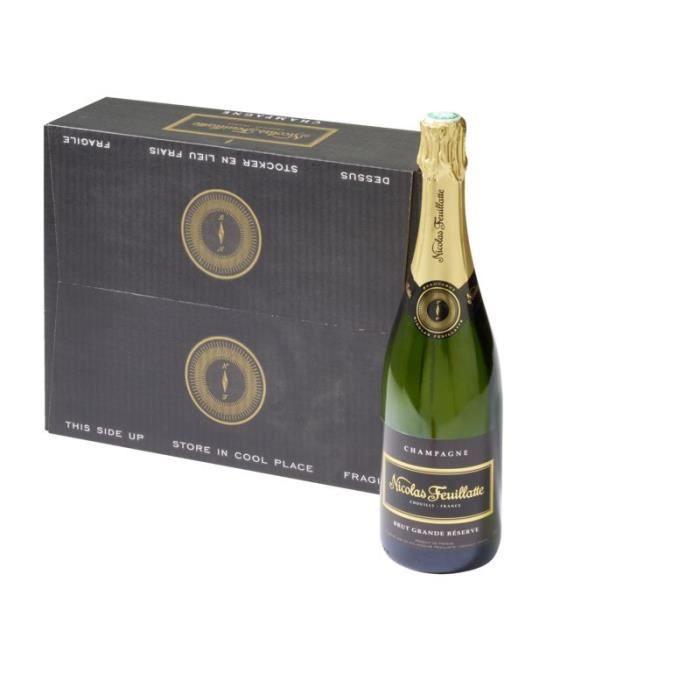 Nicolas Feuillatte Grande réserve Champagne Brut Alc. 12% vol. 3x75cl