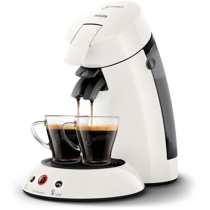 PHILIPS HD6554/11 Machine à café à dosette Original - Blanc givré