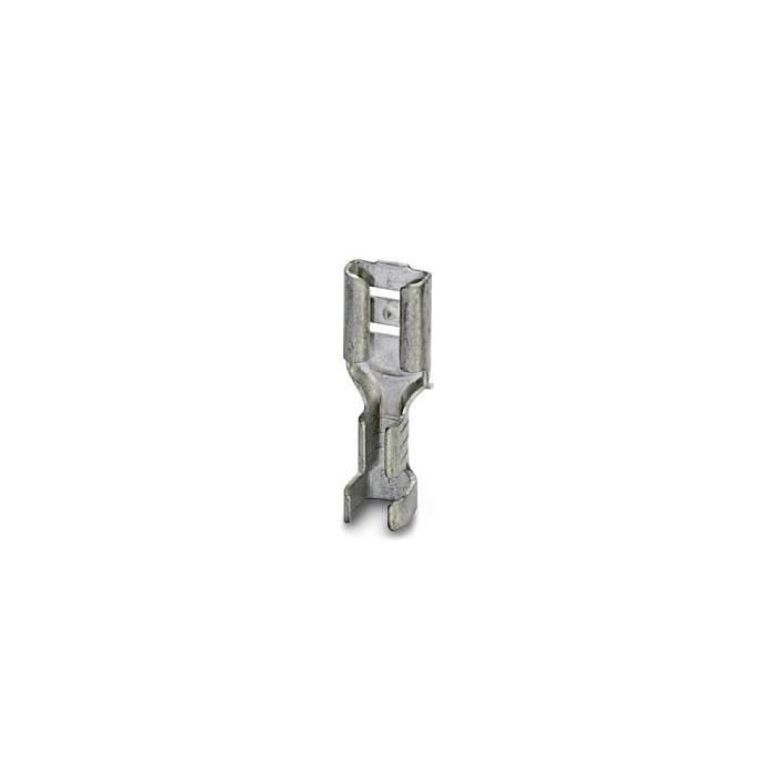 Cosse clip 4.8 mm x 0.5 mm Phoenix Contact 3240154 0.75 mm² 1.5 mm² non isolé métal 100 pc(s)