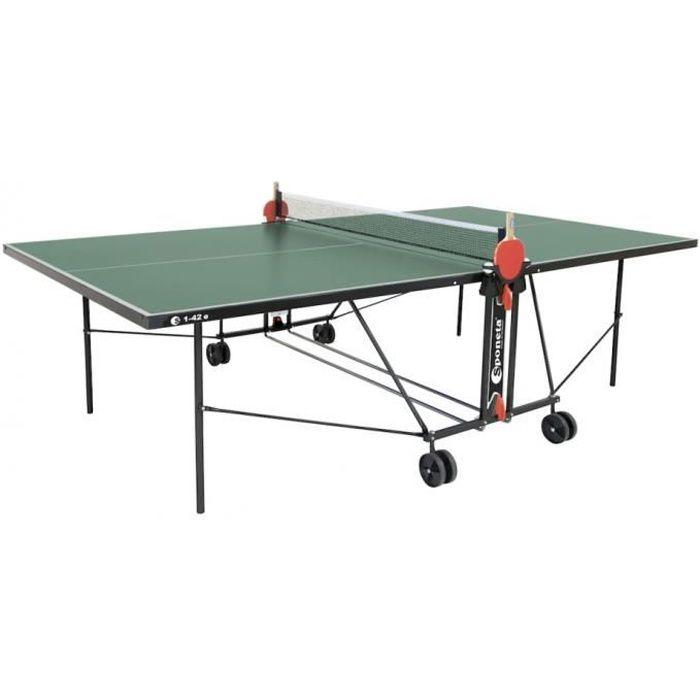 tennis de table S1-42 intérieure i vert 274 x 152,5 x 76 cm