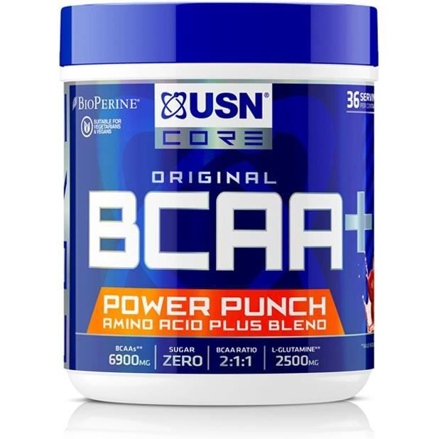 USN Boisson BCAA Power Punch - Cerise - 400 g