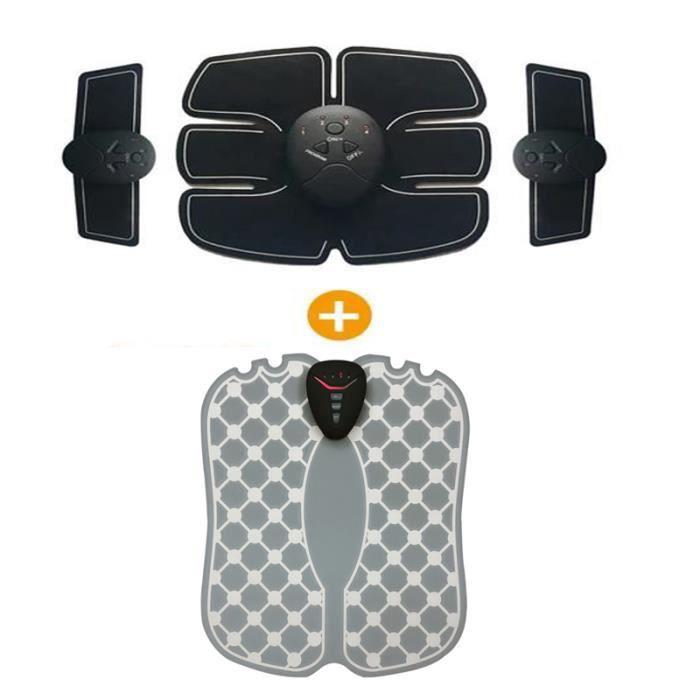 Electrostimulateur - Fitness Électrique bras abdominal muscle stimulateur,Stimulateur de pied