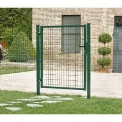 Portillon grillage l1000mm x h1530mm blanc achat for Portillon jardin grillage