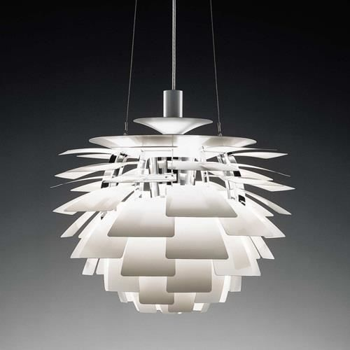 plafonnier suspension design artic 48 alum blanc achat