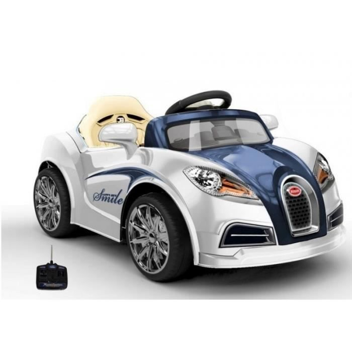 voiture lectrique pour enfant bugatti style 12v achat vente voiture enfant les soldes. Black Bedroom Furniture Sets. Home Design Ideas