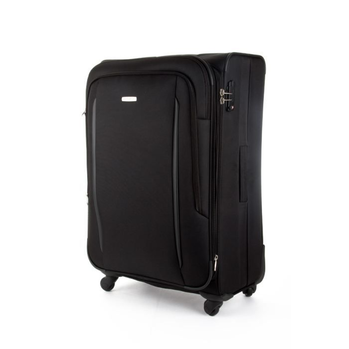 samsonite valise souple x 39 blade 78cm noir noir achat. Black Bedroom Furniture Sets. Home Design Ideas