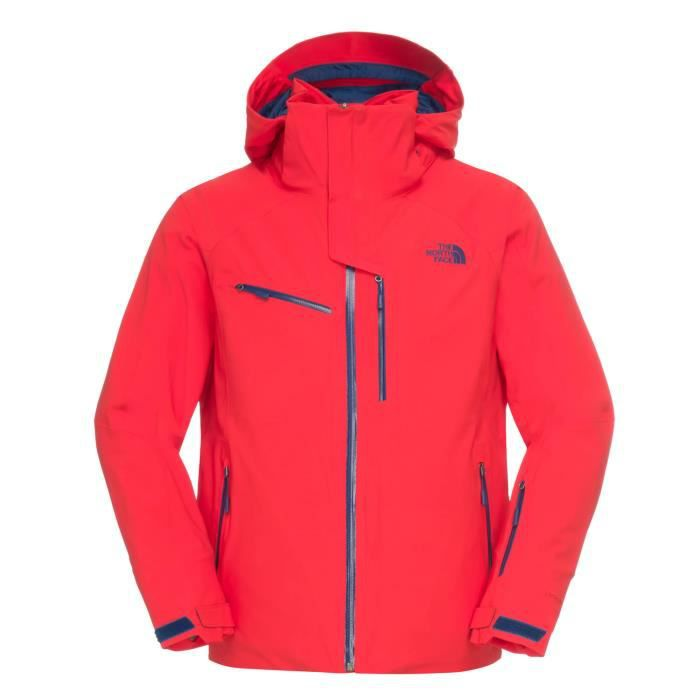 veste de ski the north face homm rouge rouge achat vente veste de sport cdiscount. Black Bedroom Furniture Sets. Home Design Ideas