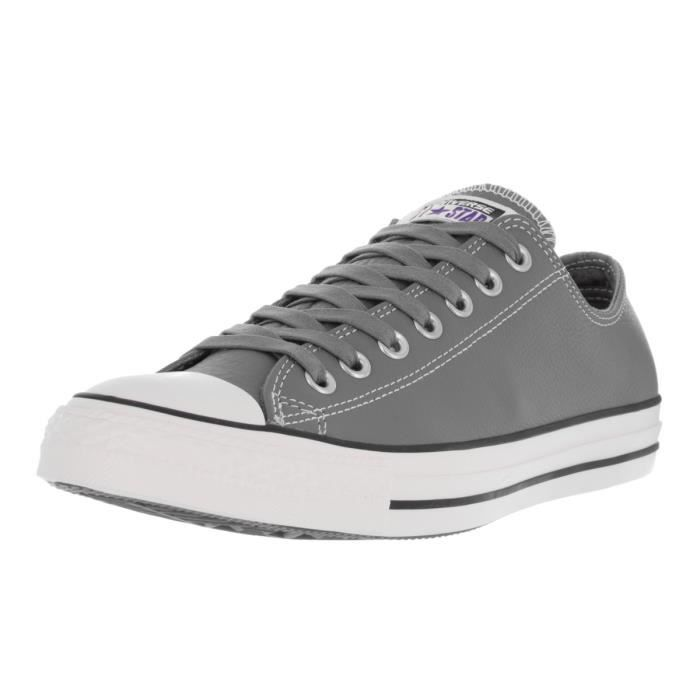 Converse Low Sneakers Chuck Taylor All Star Classic Leather Mason -grape SLJLF Taille-42 1-2