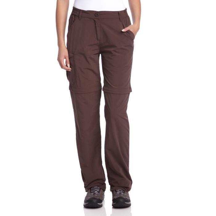 Craghoppers Femme NL convertir Marche Pantalon-Tailles Diverses-platine-Neuf