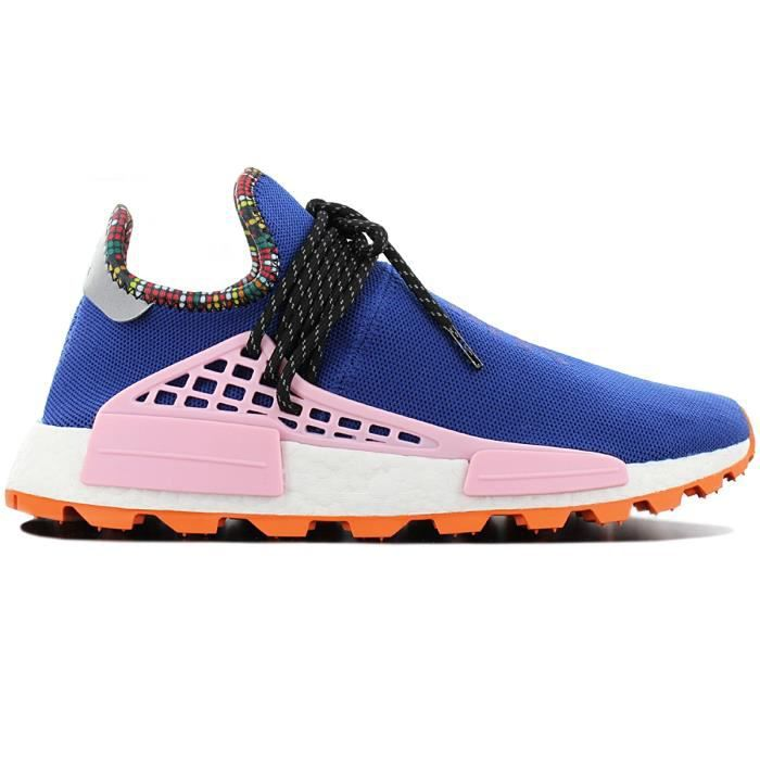 adidas Originals PW Pharrell Williams Solar HU Human Race NMD EE7579 Hommes Chaussures Baskets Sneaker Bleu