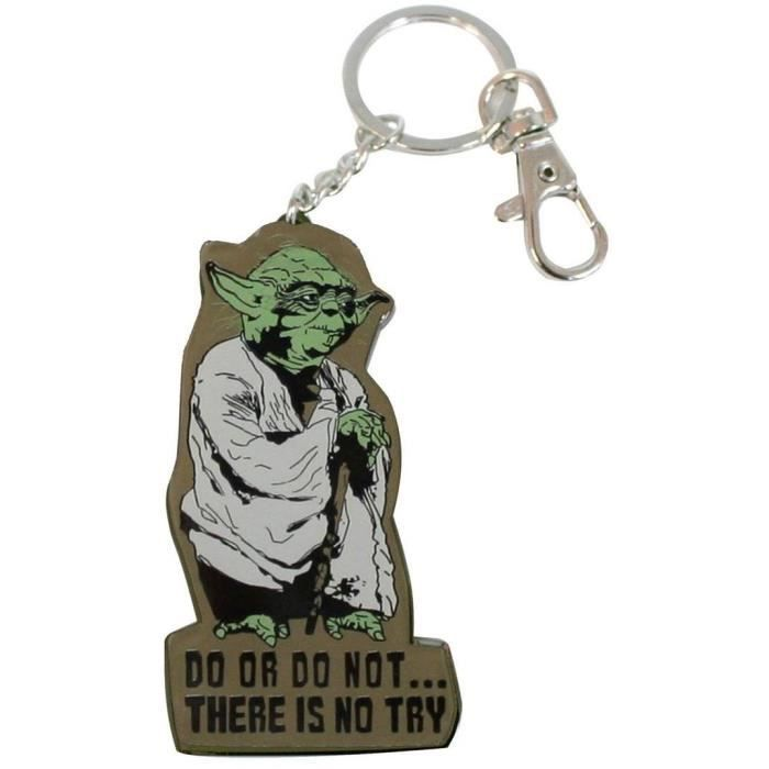 Star wars porte cl m tal yoda sd toys achat vente for Decoration porte star wars