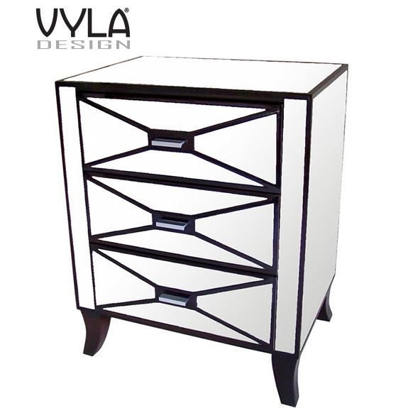 grand chevet miroir vyla design achat vente chevet grand chevet miroir vyla acrylique. Black Bedroom Furniture Sets. Home Design Ideas