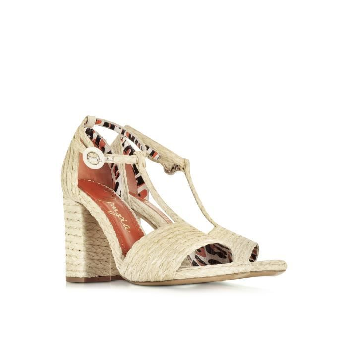 SANDALES OLYMPIA BEIGE S164776101 FEMME POLYAMIDE CHARLOTTE t0dXX